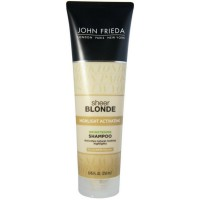 John Frieda Highlight Activating Brightening Shampoo For Darker Blondes, Sheer Blonde  8.45 oz [717226505126]
