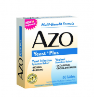 AZO Yeast Tablets 60 ea [787651606675]