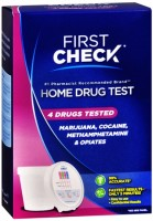 First Check Home, 4 Drug Test 1 Each [643281069047]