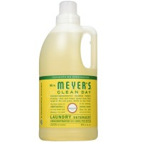 Mrs. Meyers Clean Day Laundry Detergent, Honeysuckle 64 oz [808124701120]