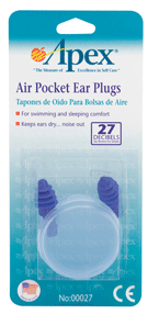 Apex Ear Plugs Air Pocket 1 Pair [076855000274]
