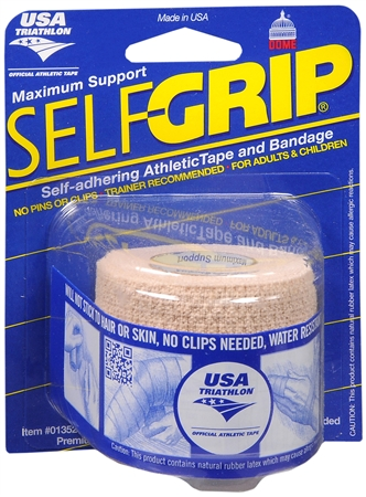 Self-Grip Self-Adhering Athletic Tape/Bandage 2 Inches, Beige 1 ea [078509013524]