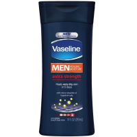 Vaseline Men Men Healing Moisture Non-Greasy Body & Face Lotion, Extra Strength 10 oz [305210416390]