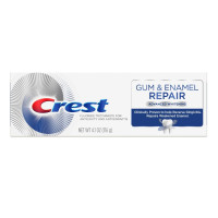 Crest Gum & Enamel Repair Toothpaste for Gum Care Advanced Whitening, 4.1 oz  [037000779704]