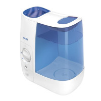 Vicks Warm Mist Humidifier, White and Blue 1 Ea [328785001365]