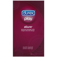 Durex Play Allure Vibrating Personal Massager Vibrator, 1 ct [302340302227]