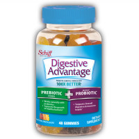 Digestive Advantage Prebiotic Fiber Plus Probiotic Gummies 48 ea [020525969569]