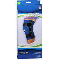 Sport Aid Neoprene Hinged Knee Support Large 1 Each [763189017640]
