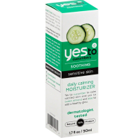 Yes To Cucumbers Soothing Daily Calming Moisturizer, Sensitive Skin 1.70 oz [813866014254]