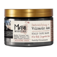 Maui Moisture Detoxifying + Volcanic Ash Scalp Care Mask For Dull And Congested Hair  12 oz [022796180421]