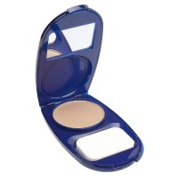 CoverGirl AquaSmooth Compact Foundation, Buff Beige [725] 0.40 oz [022700576654]
