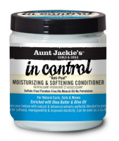 Aunt Jackie's In Control Moisturizing and Softening Conditioner, 15 oz [034285697150]