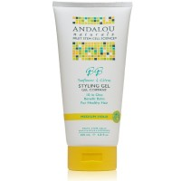 Andalou Naturals Healthy Shine Styling Gel, Sunflower Citrus 6.8 oz [859975002096]