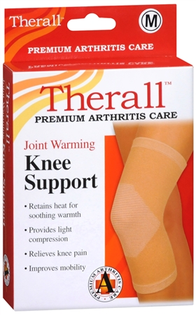 Therall Joint Warming Knee Support Medium 1 Each [719869559511]