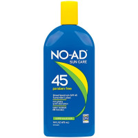 NO-AD Sunscreen Lotion SPF 45 16 oz [897640002187]