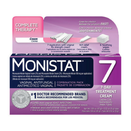 MONISTAT Complete Therapy, Combination Pack, 7-day Treatment 1 ea [363736449605]