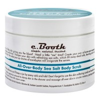 c. Booth All-Over-Body Sea Salt Body Scrub 8 oz [072151801201]