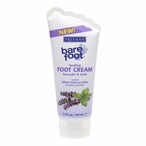 Freeman Bare Foot Healing Foot Cream Lavender & Mint 5.30 oz [072151187909]
