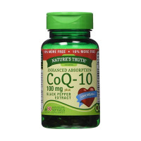 Nature's Truth Enhanced Absorption CoQ-10 100 mg, Black Pepper Extract 50 ea  [840093100603]