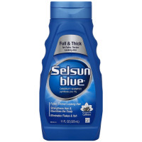 Selsun Blue Dandruff Shampoo For Fuller/Thicker Hair 11 oz [041167613207]