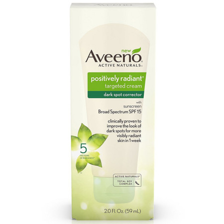 AVEENO Positively Radiant Targeted Cream Dark Spot Corrector 2 oz [381371174447]