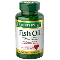 Nature's Bounty Fish Oil, 1200mg, Softgels, 60 ea [074312168871]
