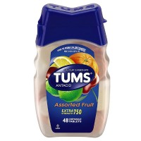 TUMS Extra Strength Antacid/Calcium, Assorted Fruits 48 ea [307660739234]