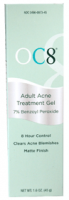 OC Eight Adult Acne Treatment Gel 1.6 oz [304960973450]