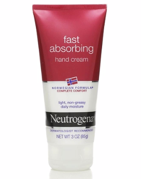 Neutrogena Norwegian Formula Fast Absorbing Hand Cream 3 oz [070501012840]