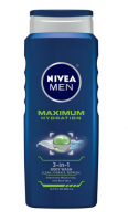 NIVEA FOR MEN Maximum Hydration 3-in-1 Body Wash , 16.9 oz [072140015336]