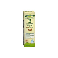 Nature's Truth Sublingual B Complex Liquid Plus B-12 Natural, Berry Flavor, 2 oz [840093101204]