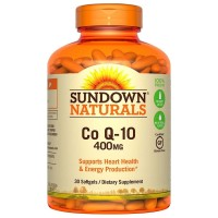 Sundown Naturals Co Q-10 400 mg Softgels 30 ea [030768133382]