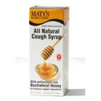 Maty's All Natural Cough Syrup, Buckwheat Honey 4 oz [899874002001]