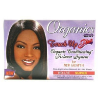 Africa's Best Organics Touch-Up Plus Moisturizing No-Lye Relaxer Kit Super 1 ea [034285581008]