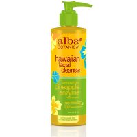 Alba Botanica Hawaiian Facial Cleanser, Pore Purifying Pineapple Enzyme 8 oz [724742008024]