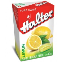 Halter Sugar-Free Bonbons, Lemon 1.40 oz [7610114002635]