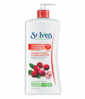 St. Ives Intensive Healing Body Lotion, Cranberry Seed & Grape Seed Oil 21 oz [077043608012]