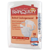 Tranquility Adjustable Belted Undergarments Incontinence Pad - 30 ea [070319021508]