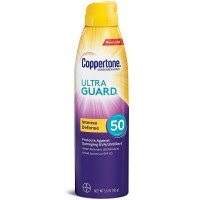 Coppertone ULTRA GUARD Continuous Sunscreen Spray SPF 50 5.50 oz [041100006677]