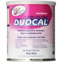 Nutricia Super Soluble Duocal Powder, Unflavored 14 oz [749735002803]