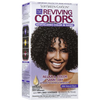 Dark and Lovely Reviving Colors, 395 Natural Black, 1 ea [075285003336]