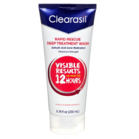Clearasil Ultra Rapid Action Daily Face Wash 6.78 oz [839977009224]