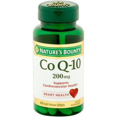 Nature's Bounty Q-Sorb Co Q-10 200 mg Softgels 45 ea [074312020995]