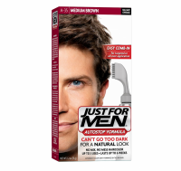 JUST FOR MEN AutoStop Haircolor Medium Brown A-35 1 Each [011509043115]