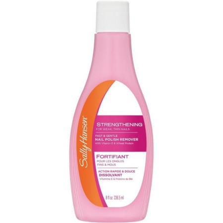 Sally Hansen Strengthening Formula Nail Polish Remover [2490], 8 oz [074170141573]
