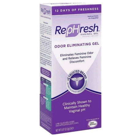 RepHresh Vaginal Gel, Odor Eliminating Gel, 4 ea [022600001119]