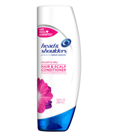 Head & Shoulders Dandruff Conditioner, Smooth & Silky 12.8 oz [037000143055]