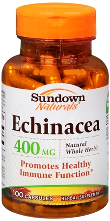 Sundown Echinacea 400 mg Capsules 100 Capsules [030768003395]