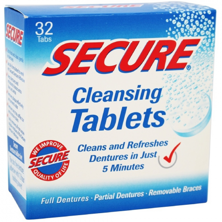 Secure Denture Cleansing Tablets 32 ea [364031300165]