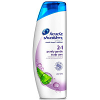 Head & Shoulders Purely Gentle Scalp Care 2-In-1 Dandruff Shampoo & Conditioner, Aloe Vera 23.70 oz [037000873839]